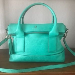 Kate Spade Leather Southport Ave Carmen Satchel
